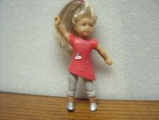 "2014 School Isabelle 3.5"" Cake Topper Figure McDonald's American Girl Doll"