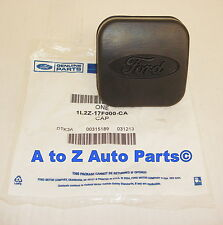 NEW Ford Oval Logo Rubber Trailer Hitch Class III Plug or Cover, OEM Ford