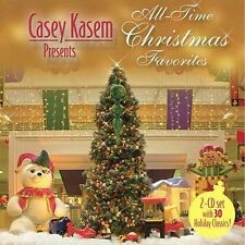 CASEY KASEM All-Time Presents Christmas Favorites 2 CDs SET 2004 Eartha Kitt