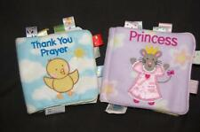 2 My First Taggies Cartwheel Books Princess Thank You Prayer Plush Fleece Child