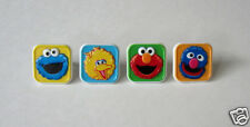 12 Sesame Street Elmo Cup Cake Ring Topper Kid Party Goody Loot Bag Favor Supply