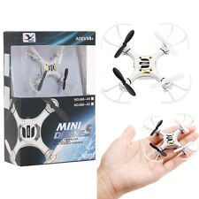"Mini 3"" RC Quadcopter 4CH 2.4GHz 6-Axis Gyro LED Drone Helicopter 3D Flying TOY"