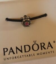 NEW Authentic RETIRED Pandora Birthday Bloom Tourmaline bead charm 790580TU