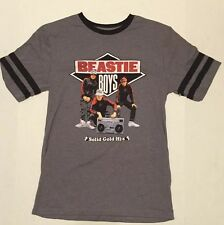 New Men's M Beastie Boys Solid Gold Hits t shirt Licensed To Ill Beatbox Ringer