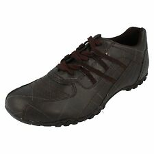 Mens Unbranded Brown Synthetic Lace Up Trainers Size UK 12 DT80076AUBZZ1AB