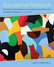 Educational Research : Planning, Conducting, and Evaluating Qu (FREE 2DAY SHIP)