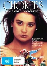 CHOICES - DEMI MOORE - VERY RARE NEW & SEALED DVD FREE LOCAL POST