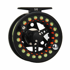 5/6WT Fly Fishing Reel and Line Combo Aluminum Large arbor Reel with Fly Line