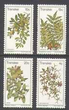 Transkei 1978 Edible Wild Plants/Flowers 4v set  n21858