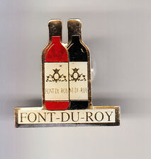RARE PINS PIN'S .. ALCOOL VIN WINE CHATEAUNEUF DU PAPE DOMAINE FONT ROY 84 ~B6
