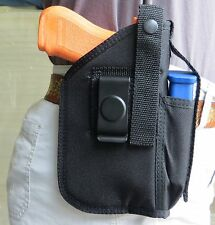 "Hip Holster for Springfield XDM with 4.5"" Barrel & Underbarrel Tactical Light"