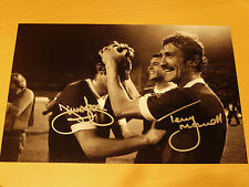 Jimmy Case & Terry McDermott Signed 12x8 1977 Euro Cup Final Liverpool FC Photo