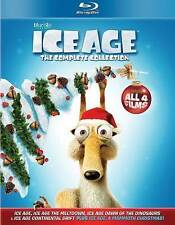 ICE AGE 1, 2, 3 & 4. 1-4 Blu-ray collection, NEW. Includes Christmas story