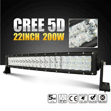 20Inch 200W Combo 20000lm LED 5D Bar Truck ATV CREE LED Work Light Offroad Lamp