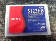 Sony QW5122FB 200MB / 420MB QIC-Wide 80 NEW Data Tape Cartridge 5 PACK !!!
