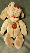 "12"" Vtg WRINKLES Plush Hand Puppet 1981 Ganz Bros Heritage Collection 1873934"