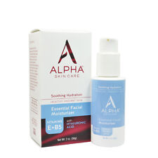 Alpha Skin Care (Alpha Hydrox) Essential Facial Moisturizer 2oz