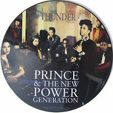 "PRINCE 12"" Thunder UK Only PICTURE DISC 3 track w/ Insert UNPLAYED"