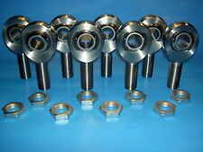 """7/8"""" x 3/4"""" Bore, 4-link Chromoly Rod End Kit w/ Jam Nuts, Heim Joints"""