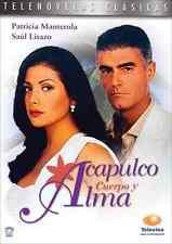 ACAPULCO CUERPO Y ALMA - DVD Telenovela  NEW + SEALED  * Televisa Novela