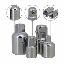 "4 PIECE RATCHET SOCKET ADAPTOR REDUCER CONVERTER SET 1/2"" 1/4"" 3/8"" I5500"