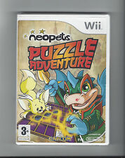 NEOPETS PUZZLE ADVENTURE NEW IN SEAL for Nintendo Wii - PAL