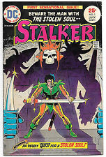 Stalker #1 (DC 1975, fn 6.0) Sword & Sorcery by Steve Ditko & Wally Wood
