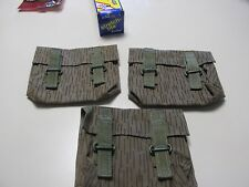 GDR NVA EAST GERMAN HAND GRENADE BAG SET OF THREE!!