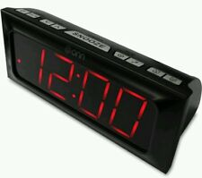 Onn Digital Am/Fm Clock Radio Extra large LED light