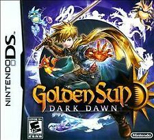Nintendo DS Golden Sun Dark Dawn New