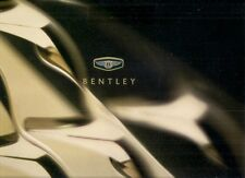 Bentley Continental T R Azure 2000-01 UK Market Sales Brochure Mulliner