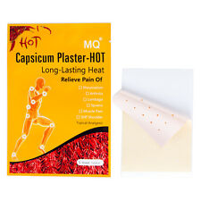 50 Packs Pain Relieving Patch Capsicum Plaster Relieve Rheumatism Arthritis Pain