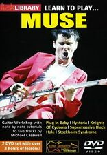 Lick Library Learn To Play Muse Hysteria Plug In Baby Rock lección Guitarra Dvd