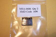 MSA-0686 conseil amplificateur DC-0.8Ghz qté. 2 nouveau avago pièces