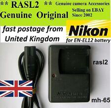 NIKON MH-65 original chargeur EN-EL12 CoolPix A900 S1100pj S9400 S9300 S8200