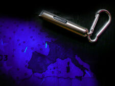 keychain counterfeit detector euro dollar false money lamp UV UVA + white led