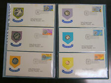 1973 British Virgin Islands First Day Stamp & Coin 6pc Proof Set, with Silver