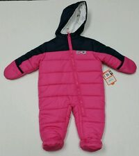 NWT Just One You by Carter's Toddler Girls Snow Suit Pink Size 6-9 Months NEW