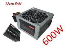 New 600 watts 600W ATX PC PSU Quiet 120mm 3 x Sata + 1 IDE 220V