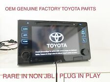 2017 2016 2015 GENUINE TOYOTA TACOMA SIENNA NAVIGATION  APP NAV MAP CARD XM SAT