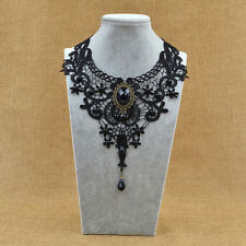 Fashion Gothic Lace Handmade Jewerly Retro Vintage Choker Collar Necklace Women