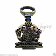 Premium Quality Locking Metal Keychain with Royal Enfield design