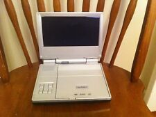 """New listing vintage Lextron portable Dvd player Model Pvs3380, 8-inch screen Travel """"as-is"""""""