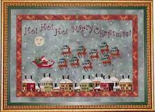 SANTA'S MIDNIGHT FLIGHT Christmas Cross Stitch CHART NEW Praiseworthy Stitches