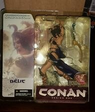 BELIT CONAN THE BARBARIAN SERIES ONE 1 MCFARLANE ACTION FIGURE SEALED 2004 SPAWN
