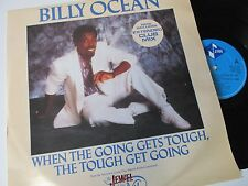 "BILLY OCEAN WHEN THE GOING GETS TOUGH (1980s SYNTH-POP) VINYL 12"" 45RPM SINGLE"