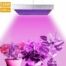1365 LED 120W Grow Light Panel Plants Blue Red Lamp for Indoor Veg Hydroponic