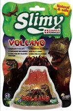 Slimy Super Stretchy Volcano with Plastic Dinosaur Toy - 12 to Collect!