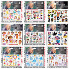 KIDS TEMPORARY TATTOOS BOYS GIRLS TATTOOS PARTY BAG LOOT BAG TATTOO STICKERS