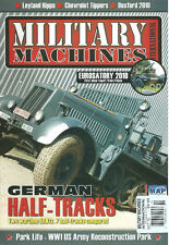 MILITARY MACHINES INTL OCT 10 LEYLAND HIPPO / Sd.Kfz.7 / CHEVY TIPPER / CARDEN-L